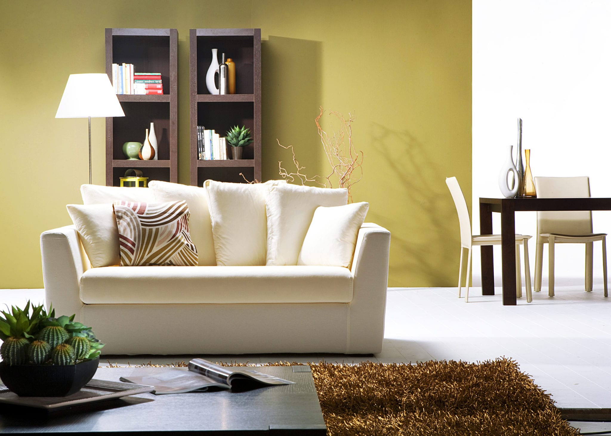 How to Stage Your Living Room