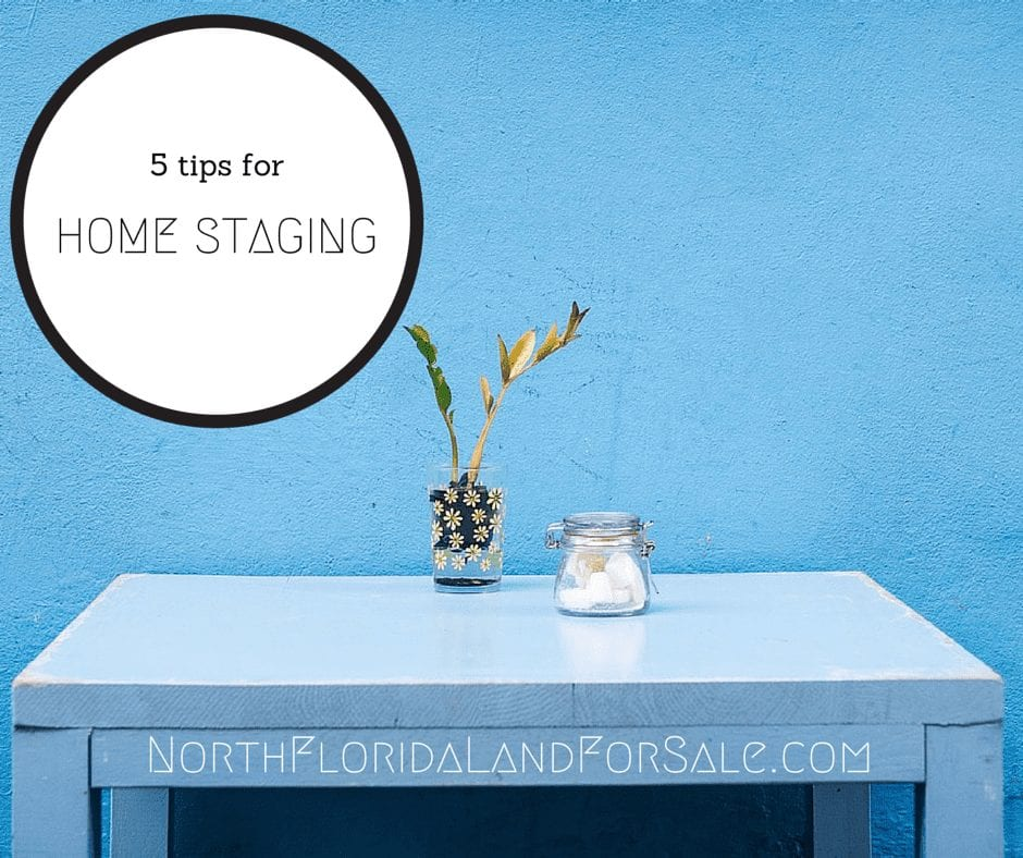 Home Staging for Your North Florida Home - Sell Your North Florida Home
